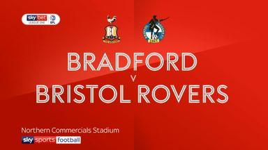 Bradford 0-0 Bristol Rovers