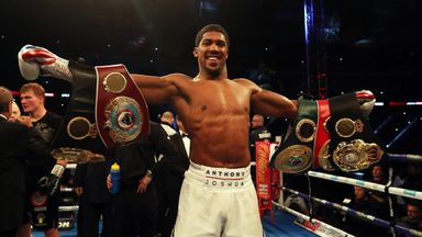 Highlights: AJ knocks out Povetkin
