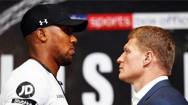 Hearn: AJ fighting for Britain