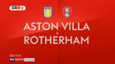 Aston Villa 2-0 Rotherham