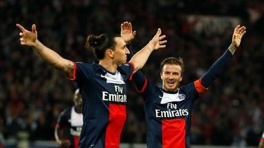 Beckham's message to 'old' Zlatan!