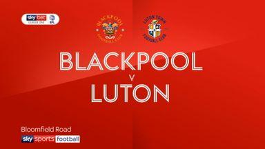 Blackpool 0-0 Luton