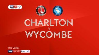 Charlton 3-2 Wycombe