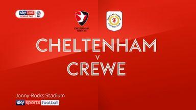 Cheltenham 0-0 Crewe