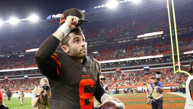 Mayfield 'proud' of Browns comeback win