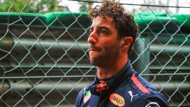 Ricciardo howls in frustration