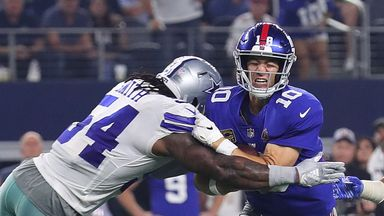 Giants 13-20 Cowboys