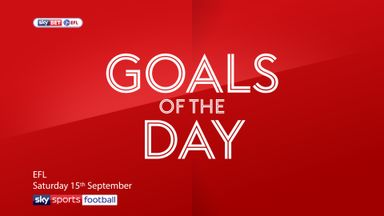 Best EFL Goals: 15th September