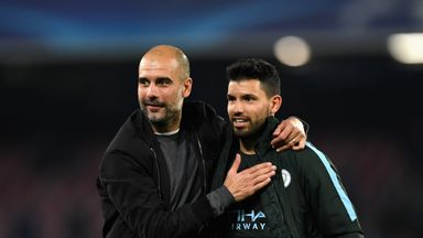 Pep grateful for Aguero trust