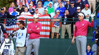 Ryder Cup moments: Medinah tee antics