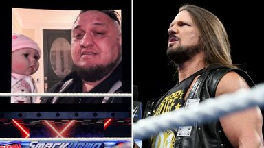 Samoa Joe invades AJ Styles' home