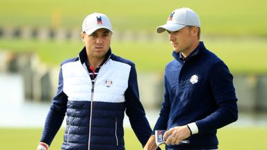 Spieth-Thomas pairing 'worked for US'