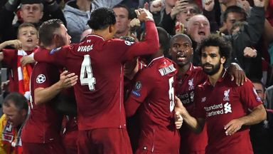'Amazing' night for Liverpool players