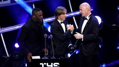 Modric named FIFA best men's player