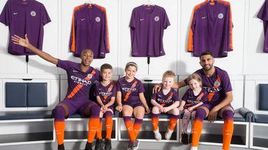 Man City reveal third kit