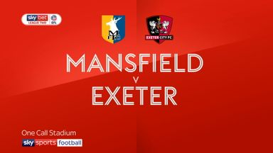 Mansfield 1-2 Exeter