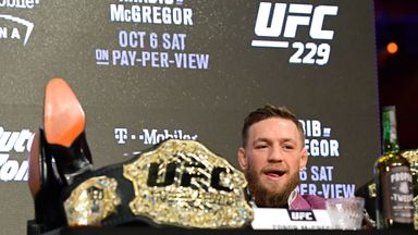 McGregor: Why I came back