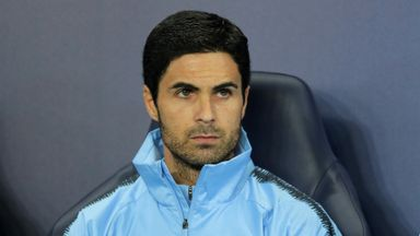 Arteta not 'prepared' for City struggles