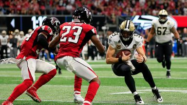 Saints 43-37 Falcons