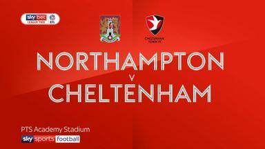 Northampton 1-3 Cheltenham