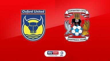 Oxford Utd 1-2 Coventry