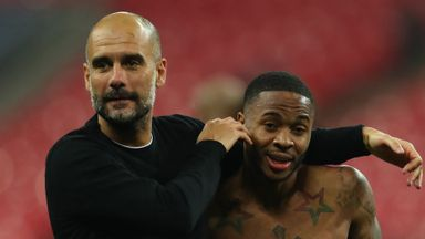 Pep unsure on Sterling contract progress