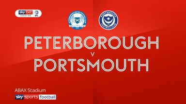Peterborough 1-2 Portsmouth