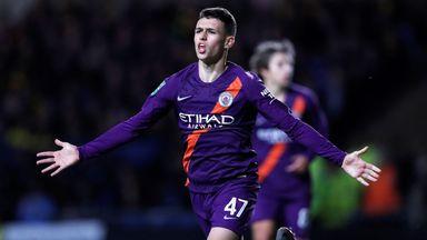 Foden bags first City goal