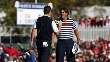 Ryder Cup moments: Phil v Rose