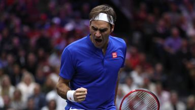 Highlights: Federer v Isner
