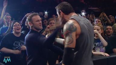Wade Barrett discusses Rooney slap