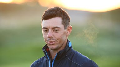 McIlroy admits to Ryder Cup nerves