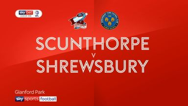 Scunthorpe 1-0 Shrewsbury