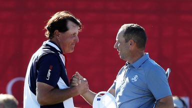 Ryder Cup moments: Sergio v Phil