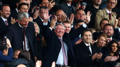 Fergie welcomed back to Old Trafford