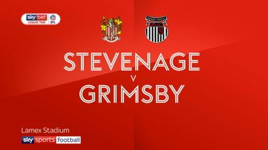 Stevenage 1-0 Grimsby