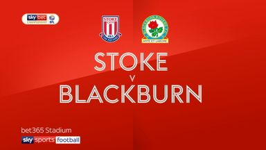 Stoke 2-3 Blackburn