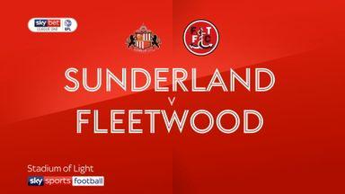 Sunderland 1-1 Fleetwood