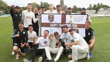 Stewart: Youth key to Surrey success