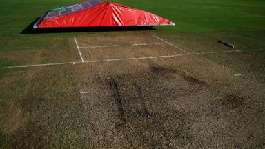 Storm Bronagh damages Taunton pitch