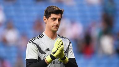 Chelsea fans' anger makes Courtois 'sad'