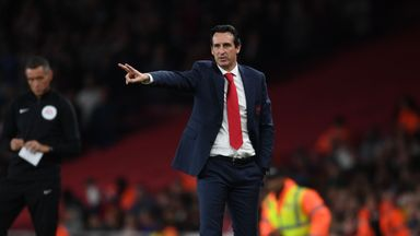 Emery wants Arsenal to 'respect' EL