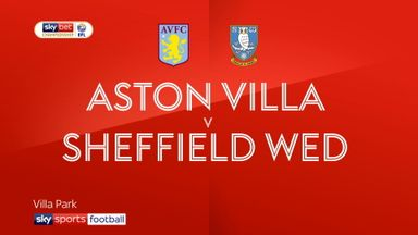 Aston Villa 1-2 Sheffield Wednesday