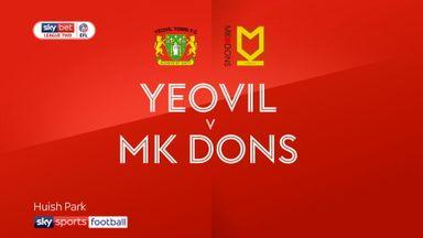 Yeovil 1-1 MK Dons