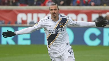 Zlatan keeps Galaxy in the hunt