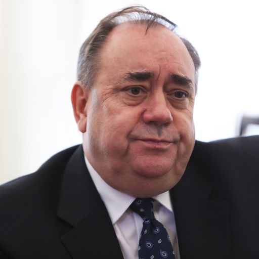 Alex Salmond denies misconduct at Edinburgh Airport