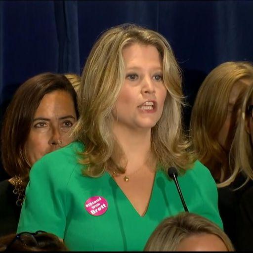 Female supporters back Brett Kavanaugh over sexual assault allegation
