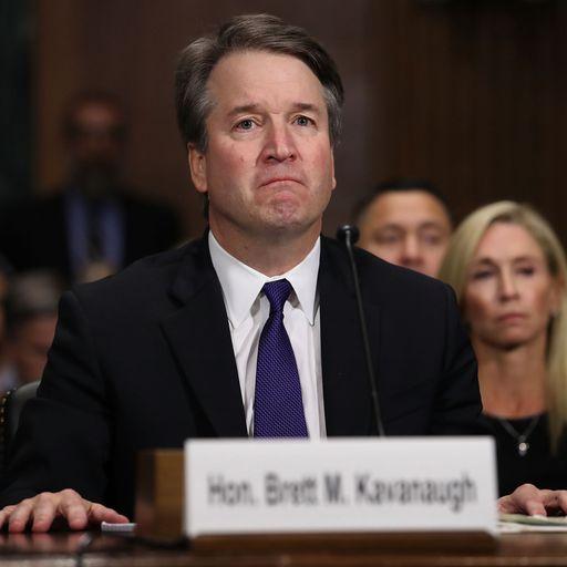 Trump backs Kavanaugh's 'powerful' sex assault denial