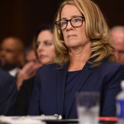Christine Blasey Ford's allegation