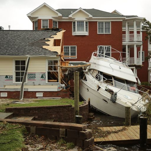 Storm Florence's cruel and unpredictable hand
